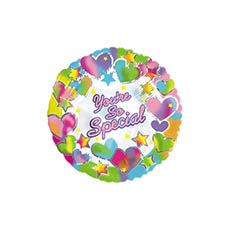 Foil Balloons - Foil Balloon 9 (22.5cmD) Air Filled Round Youre So Special