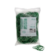 Rubber Bands - Rubber Bands Bag 500g Size 12 Green (42mmLx1.5mmW)
