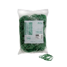 Rubber Bands - Rubber Bands Bag 500g Size 16 Green (60mmLx1.5mmW)