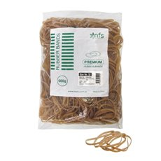 Rubber Bands Bag 500g Size 32 Natural (80cmLx3mmW)