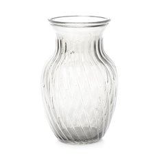 Recycled Style & Coloured Vases - Glass Country Bella Vase 12Dx20mH Clear