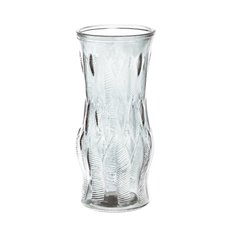 Coloured Glass Tall Cylinder Vase Clear (10x21.8cmH)