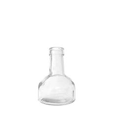 Glass Bottles - Glass Bottle Bud Vase Clear (TD:3.3xBD:8.4x12cmH)