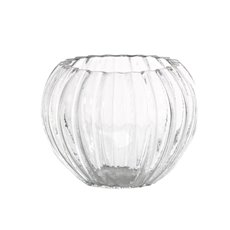 Fish Bowl Vases - Glass Angelina Fish Bowl Clear (15x12.5cmH)