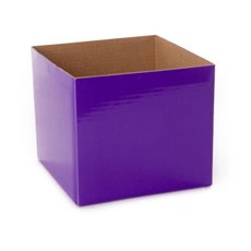 Posie Flower Box Mini - Posy Box Mini Violet (13x12cmH)