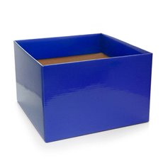 Posie Flower Box Large - Posy Box Large Cobalt Blue (22x14cmH)