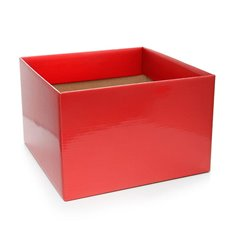 Posie Flower Box Large - Posy Box Large Red (22x14cmH)
