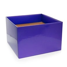 Posie Flower Box Large - Posy Box Large Violet (22x14cmH)