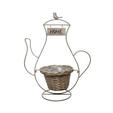 Decor Coffee Pot Stand with Natural Planter (20x45x56cmH)