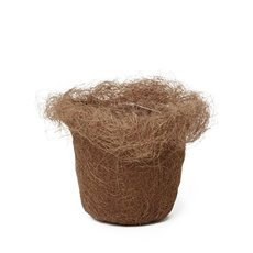 Flower Planter Pots - Planter Insert Artificial Sisal Chocolate (17x12cmH)