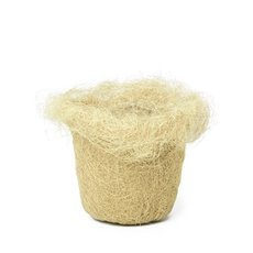 Planter Insert Artificial Sisal Natural (17x12cmH)
