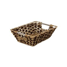 Seagrass Tray Diamond DUO Rectangle 33x24x10cmH Natural
