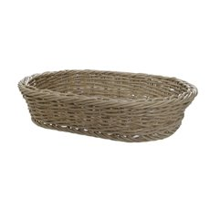 Hamper Tray & Gift Basket - Oliver Wicker Hamper Basket Oval Natural (40x28x9cmH)