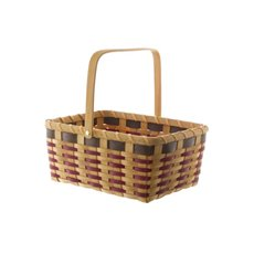 Woven Basket Rectangle Natural (31x22.5x13.5cmH)