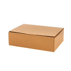 Brown Kraft Mailing Box Medium A4 10 Pack (310x225x102mmH)