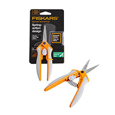 Florist & Craft Scissors - Fiskars Florist & Garden Powercut Snip Micro-tip (16cm)