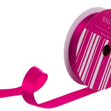Bulk Ribbon Single Face Satin Hot Pink (25mmx50m)