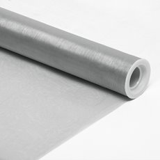 Satin Organza Wide - Wrap Organza Wide Roll Cut Edge Silver (70cmx10m)