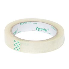 Adhesive Tapes - Premium Cello BOPP Sticky Tape Clear (18mmx66m)