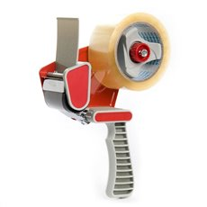 Adhesive Tapes - Premium Packaging Tape Gun Dispenser (Red)