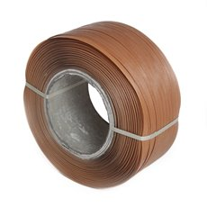 Packaging Tapes & Wrap - Machine Strapping Tape (12mm x 2500m) LIGHT BROWN