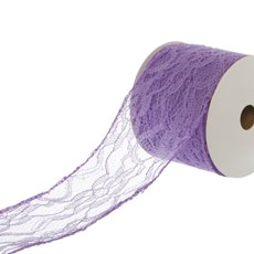 Ribbon Lace Purple (60mmx10m)