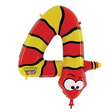 Zooloons Giant Helium Balloon 40 (100cmD) Snake No. 4