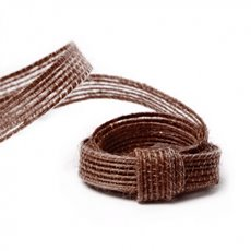 Ribbon Jute Chocolate (10mmx10m)