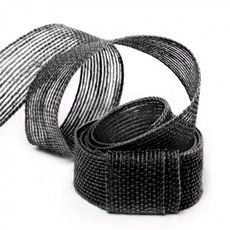 Ribbon Jute Black (25mmx10m)