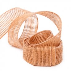 Ribbon Jute Terracotta (25mmx10m)