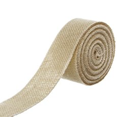 Jute Roll Sewn Edge Cream (50mmx10m)