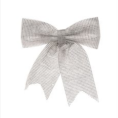Diamond Bow Silver (30cmx34cmH)