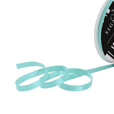Satin Ribbons - Ribbon Satin Deluxe Double Faced Tiffany Blue (6mmx25m)