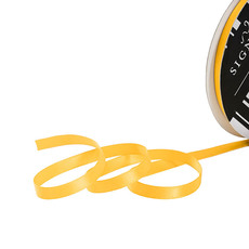 Satin Ribbons - Ribbon Satin Deluxe Double Faced Yellow (6mmx25m)