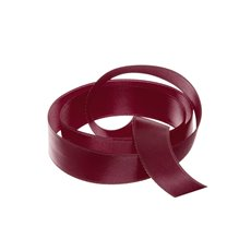 Satin Ribbons - Ribbon Satin Deluxe Double Faced Burgundy (15mmx25m)