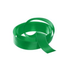 Satin Ribbons - Ribbon Satin Deluxe Double Faced Emerald Green (15mmx25m)