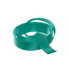 Satin Ribbons - Ribbon Satin Deluxe Double Faced Teal (15mmx25m)