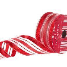 Ribbon Metallic Glamour Red (50mmx10m)