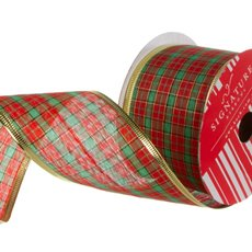Ribbon Tartan Christmas Traditional (60mmx20m)