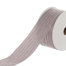 Ribbon Satin with Stitch (40mmx18.2m) Blush