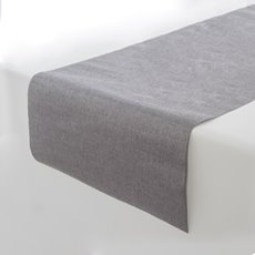 Plain Linen Roll Grey with Glitter Flecks (30cmx180cm)