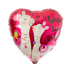 Foil Balloons - Foil Balloon 17 Whole Llama love