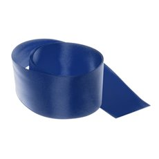 Satin Ribbons - Ribbon Satin Deluxe Double Faced Navy (50mmx25m)
