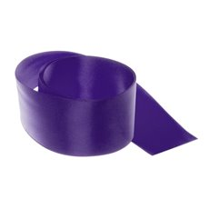 Ribbon Double Face Satin Violet (50mmx25m)