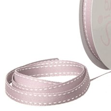 Grosgrain Ribbons - Ribbon Grosgrain Saddle Stitch Dusk (10mmx20m)