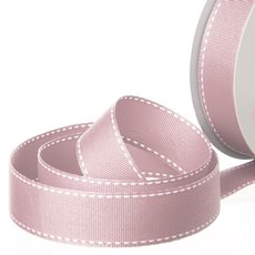 Grosgrain Ribbons - Ribbon Grosgrain Saddle Stitch Dusk (25mmx20m)