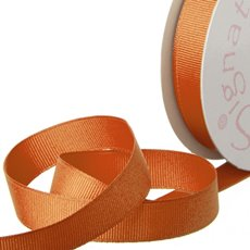 Ribbon Plain Grosgrain Orange (15mmx20m)