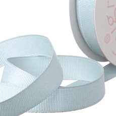 Grosgrain Ribbons - Ribbon Plain Grosgrain Baby Blue (25mmx20m)