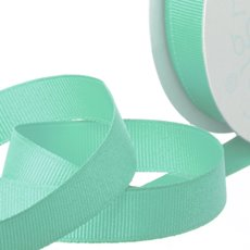 Grosgrain Ribbons - Ribbon Plain Grosgrain Peacock (25mmx20m)