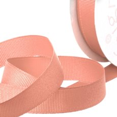 Grosgrain Ribbons - Ribbon Plain Grosgrain Rose Gold (25mmx20m)